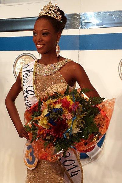 Miss Guyane 2013 est Henriette Groneveltd