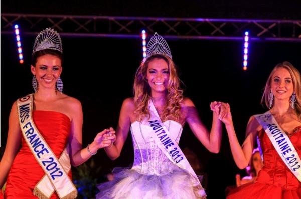 Miss Aquitaine 2013 est Camille Gafa