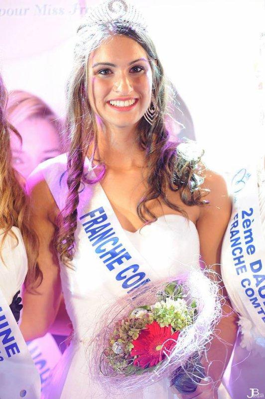 Miss Franche-Comté 2013 est Camille Duban