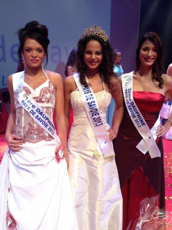 Miss Pays de Savoie 2013 est Julie Legros