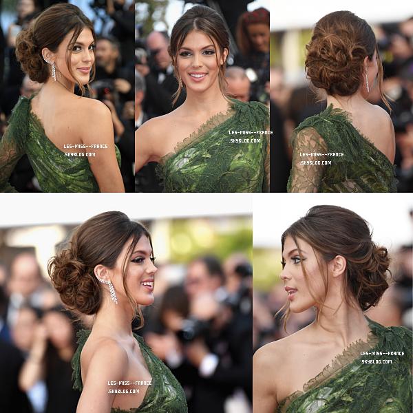 EVENTS -- Iris s'est rendue au Festival de Cannes, le 24 mai 2017.