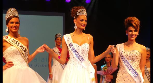 Miss Nord Pas de Calais 2013 est Gaëlle Mans