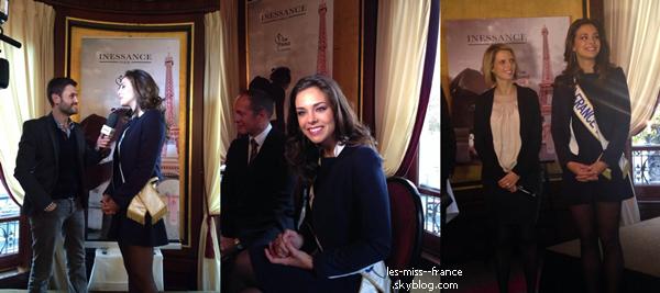 EVENTS -- Marine était à Melun pour le lancement du parfum Miss France, dont elle est l'ambassadrice, le 7 septembre.