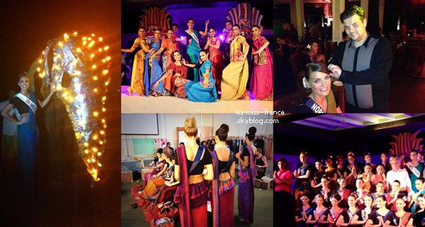 Dans les coulisses de la soirée SriLankaise on se prépare...