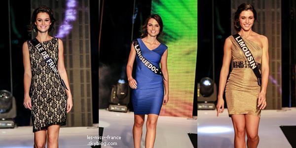 Découvrez les photos du défilé à l'hôtel Cinnamon Resort des candidates à Miss France 2014