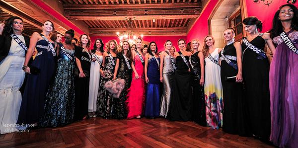 Les candidates étaient aux Gala de charité en Bourgogne