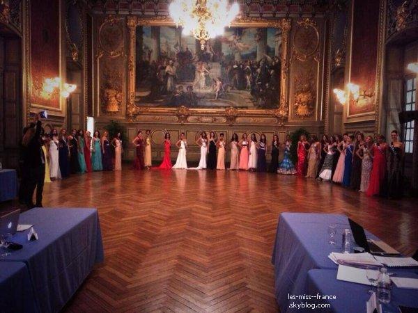 05 Déc. 2013 | Aujourd'hui, les candidates à Miss France 2014 sont passées devant le jury de présélection