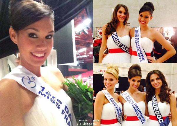 SHOOTING -- Premier shooting photos pour Miss France 2014, Flora Coquerel !