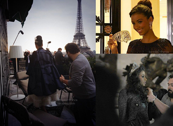 SHOOTING -- Premier shooting photos pour Miss France 2014, Flora Coquerel !