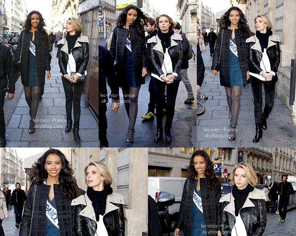 09 Déc. 2013 | Une grosse journée pour la nouvelle Mis France en titre, Flora avec un passage un JT de 13h.