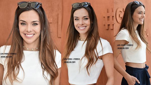 04 Juin 2017 | Marine, Flora et Laury sont à Roland Garros.