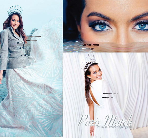 MAGAZINES -- Miss France 2019, Vaimalama dans la magazine Gala et Paris Match