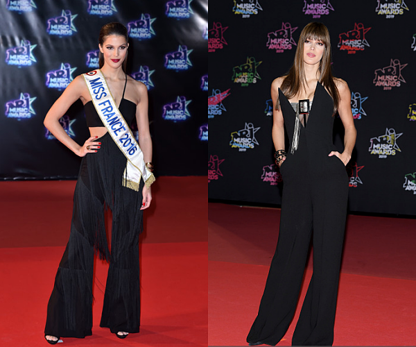 EVENTS -- Iris sur le tapis rouge des NRJ Music Awards