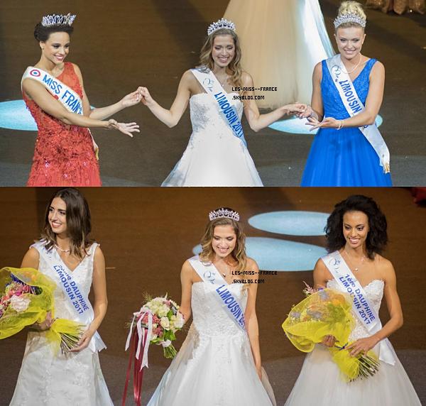 Miss Limousin 2017 est Anais Berthomier.
