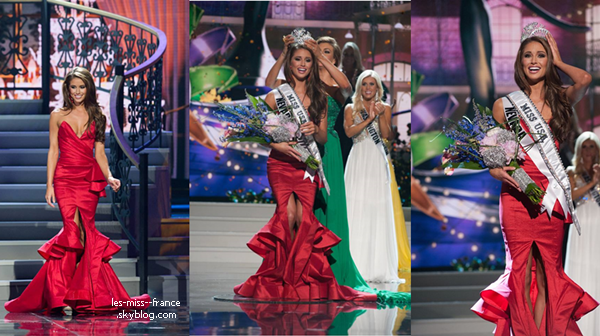 Miss USA 2014 est Miss Nevada !