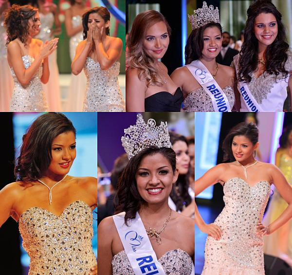 Miss Réunion 2014 est Ingrid Mercredi