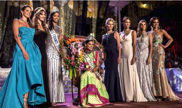 Miss Tahiti 2014 est Hinarere Taputu