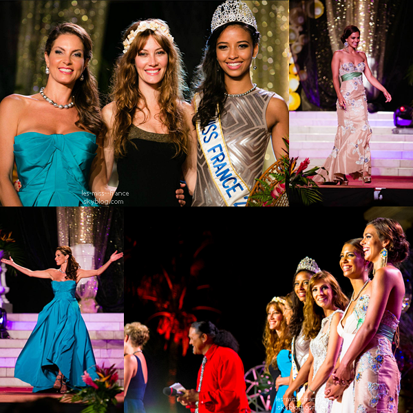 Des photos de l'élection Miss Tahiti 2014, avec nos 7 merveilles ♥