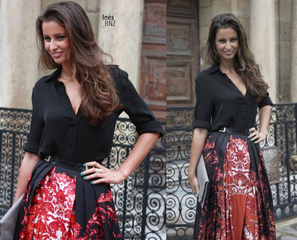 12 Juil. 2014 | Marine Lorphelin était à l'élection de Miss Beaucaire