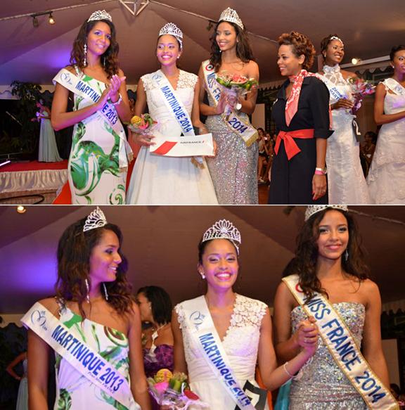 Miss Martinique 2014 est Moëra Michalon
