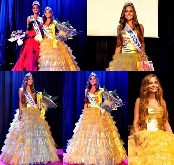 Miss Côte d'Azur 2014 est Charlotte Pirroni