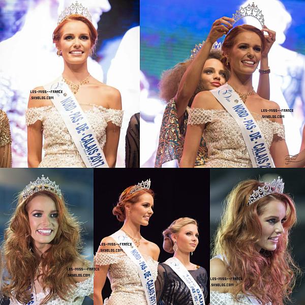 Miss Nord Pas De Calais 2017 est Maëva Coucke