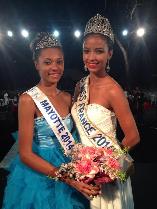 Miss Mayotte 2014 est Ludy Langlade