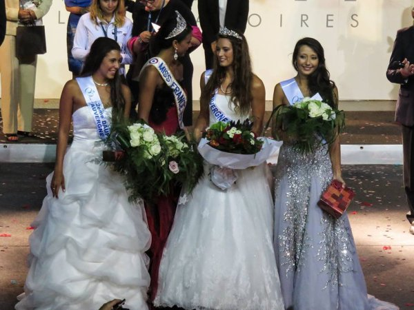 Miss Auvergne 2014 est Morgane Laporte
