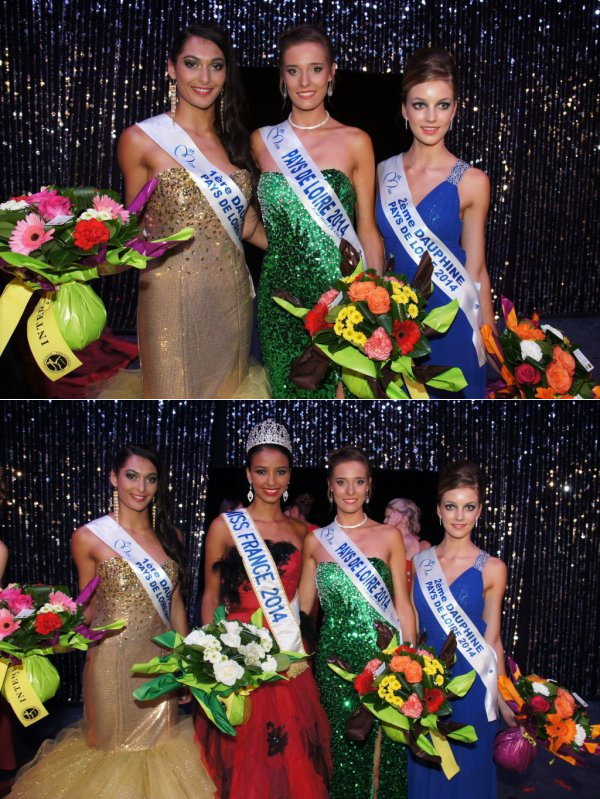 Miss Pays de Loire 2014 est Flavy Facon
