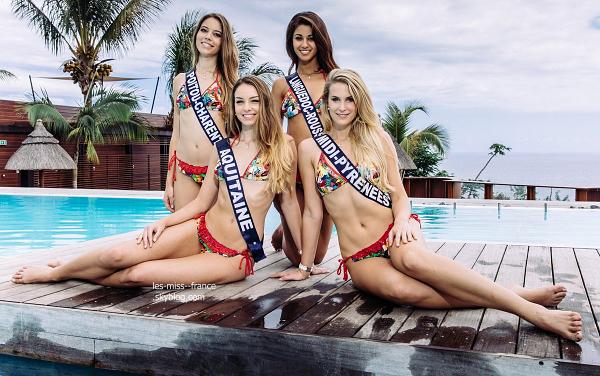 Après les portraits en maillot de bain, découvrez les photos de groupe