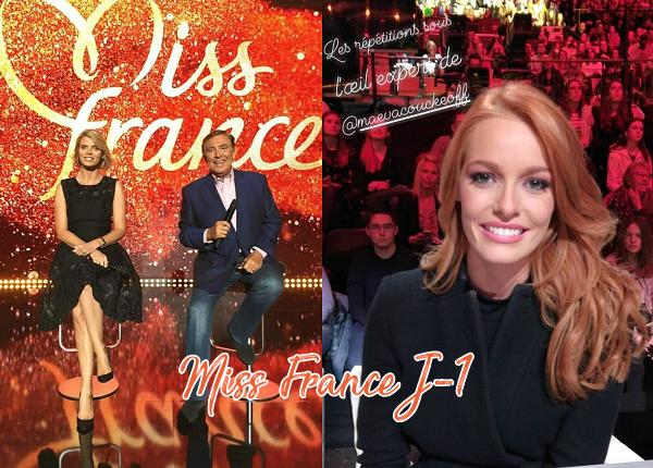 15 Déc. 2018 | J-J Ce soir élection de Miss France 2019 !
