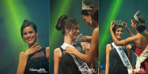 Miss Orléanais 2014 est Solène Salmagne