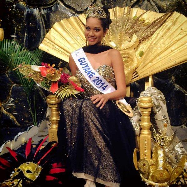 Miss Guyane 2014 est Valeria Coelho Maciel