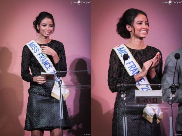 23 Oct. 2014 | Flora Coquerel était en séance essayages Miss Monde chez Eric Tibusch.