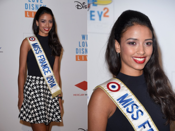 04 Nov. 2014 | Flora Coquerel était au Concert We Love Disney organisé pour l'association Rêves, au Grand Rex à Paris.