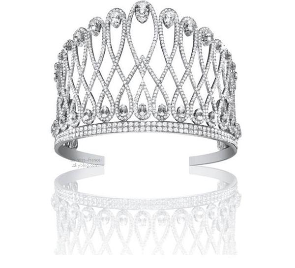 Découvrez la couronne de Miss France 2015 !