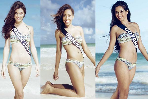 Partie 1 | Et voici les photos officielles de 18 candidates en maillot de bain !