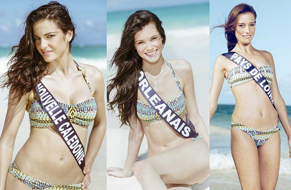Partie 2 | Et voici les photos officielles de 13 candidates en maillot de bain !