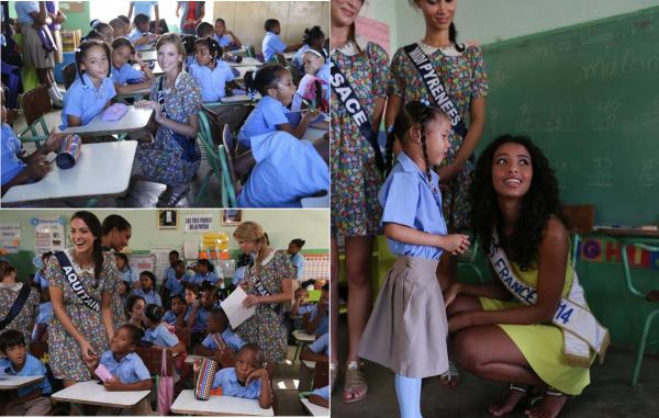 21 Nov. 2014 | Découvrez de nouvelle photos de nos 33 candidates à Punta Cana ; balade à cheval, surf, visite d'une école, piscine...