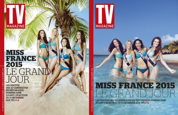 Différents articles de presse sur nos candidates à Miss France 2015