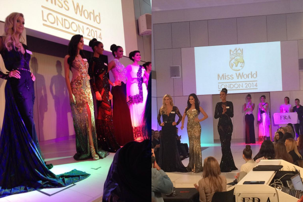 30 Nov. 2014 | Jour 9 - Se soir les candidates à Miss Monde 2014 sont à un Gala de charité.