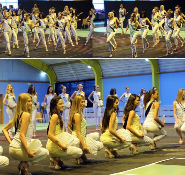 30 Nov. 2014 | Les 33 miss étaient en répétitions pour le grand show de samedi prochain!