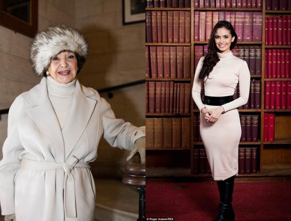 03 Nov. 2014 | Jour 11 - Flora Coquerel a visité la ville d'Oxford avec les autres candidates, accompagnées de Megan Young et de Denise Perrier.