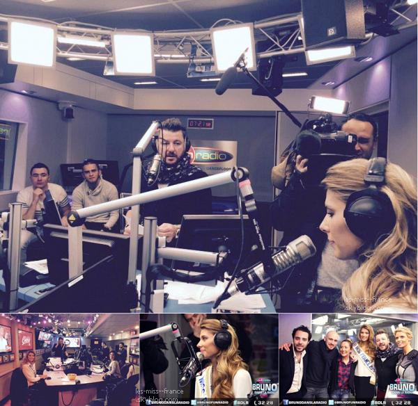 08 Déc. 2014 | Ce matin tournée médiatique pour Camille Cerf, chez Fun Radio, Europe1 et Chérie FM.