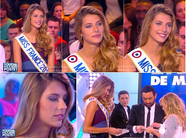 10 Déc. 2014 | Camille Cerf était chez Cyril Hanouna dans Touche pas à mon poste sur D8.