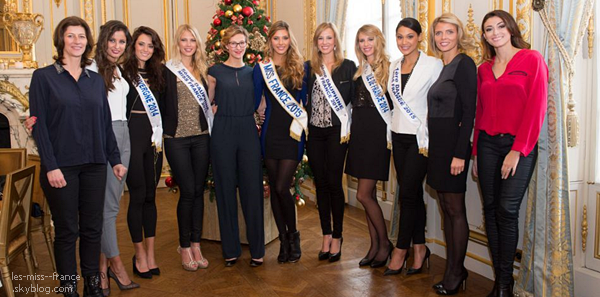 14 Déc. 2014 | Un reportage sur la nouvelle Miss France 2015, Camille Cerf dans Septh à Huit.