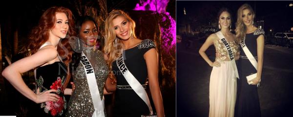 09 Janv. 2015 | Jour 3 - Se soir présentation des candidates à Miss Univers.