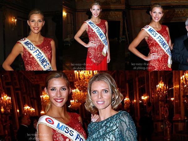 02 Fév. 2015 | Camille et Sylvie étaient à Versailles pour soutenir la Charte de Paris contre le cancer.