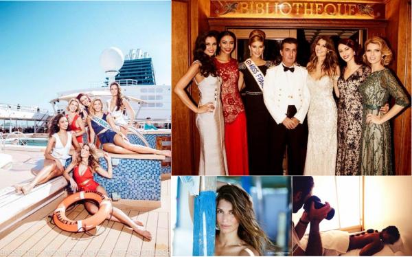 Les Miss en croisière dans les Antilles, c'est dans TV magazine à partir du 15 février. Il y aura également un reportage dans 7à8 le 15.