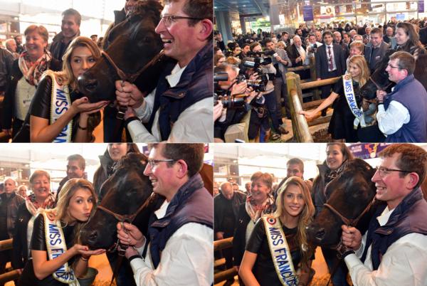 24 Févr. 2015 | Camille visité aujourd'hui le Salon de l'agriculture à Paris Porte de Versailles.